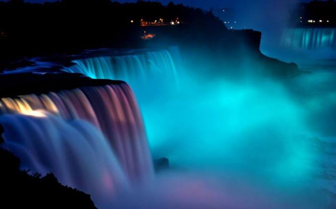 turquoise, niagara falls, dysautonomia, october